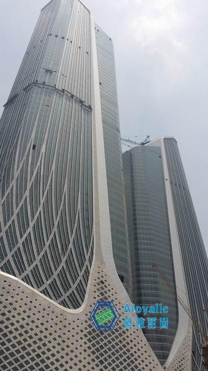 南京青奥中心双塔