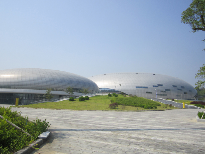 广州亚运场馆――花都体育馆