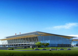 西宁曹家堡机场二期航站楼